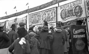 Sideshow Banners from the 1918 Barnum and Bailey Circus