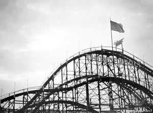 Thunderbolt Roller Coaster at Coney Island