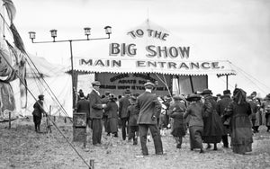 Entrance to the Barnum & Baily Big Top Tent