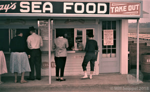 Seafood Take-Out Stand in Gloucester