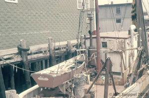 Interior of Ship Nestled in Gloucester Harbor