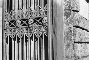 Death's Face on Gate