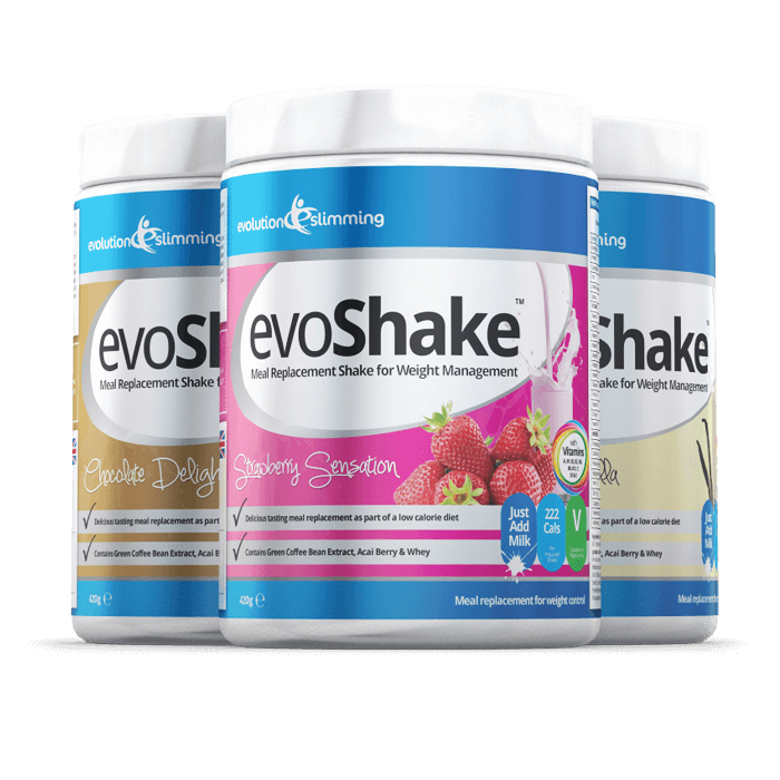 EvoShake Meal Replacement Whey Protein Diet Shake 3 for 2 Offer