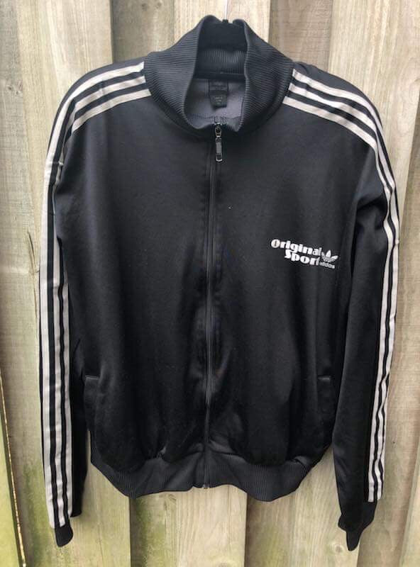 Adidas Originals Zip Up Sweater Xl Jmvintage