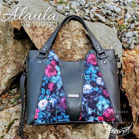 Alaula Handbag PDF Pattern with Videos