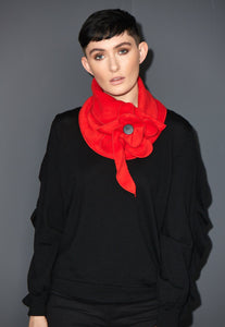 The poppy scarf by Rew clothing