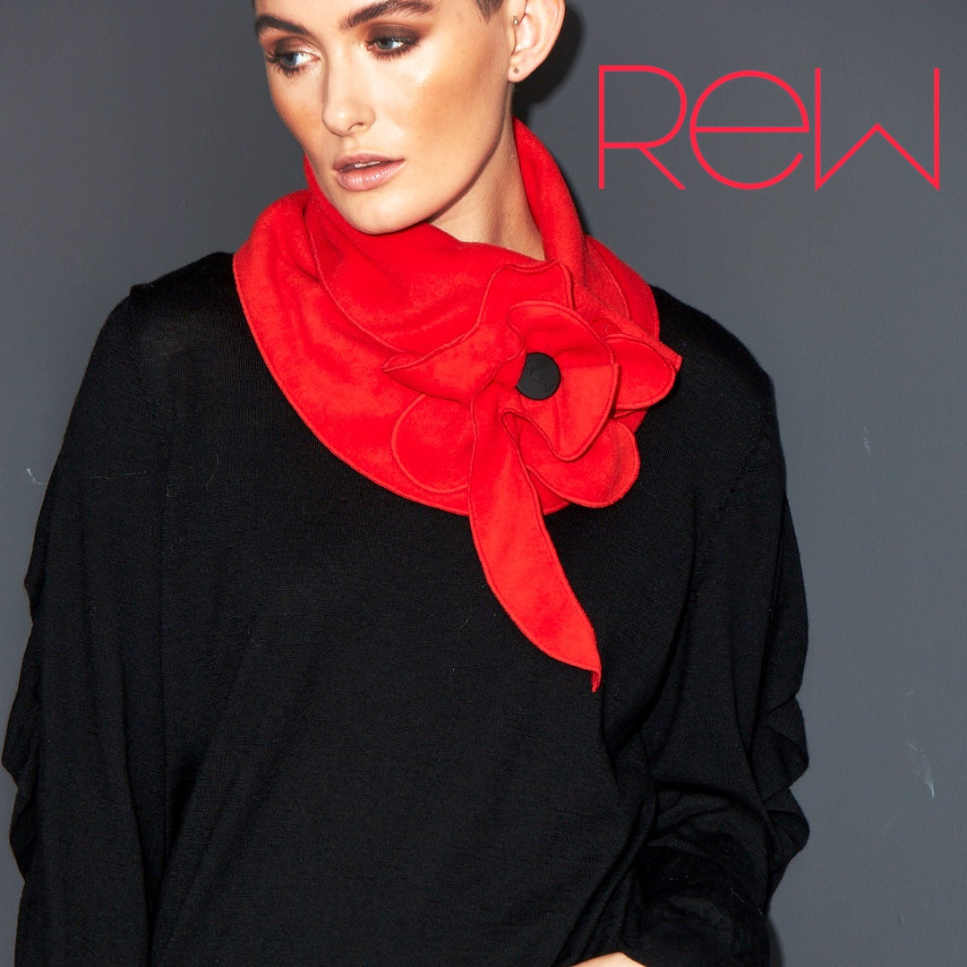 The Royal British Legion limited edition poppy scarf