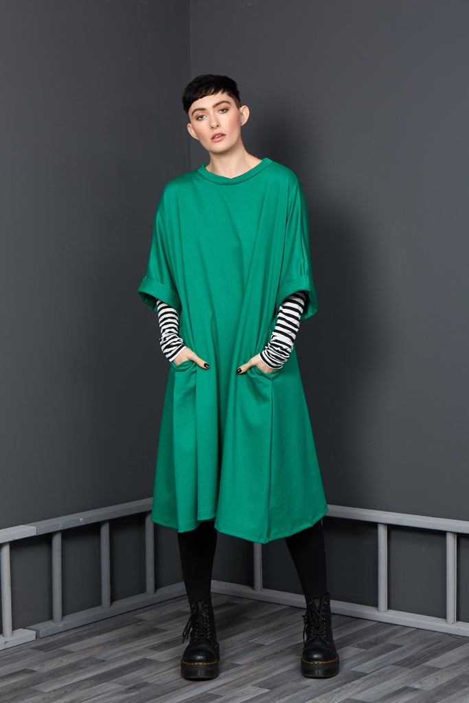 Bright green rew clothing dress