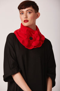 Rememberance poppy scarf