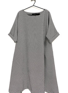 Zana -Kriss Kross Loose Fit Dress