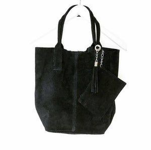 Suede Slouch Shopper