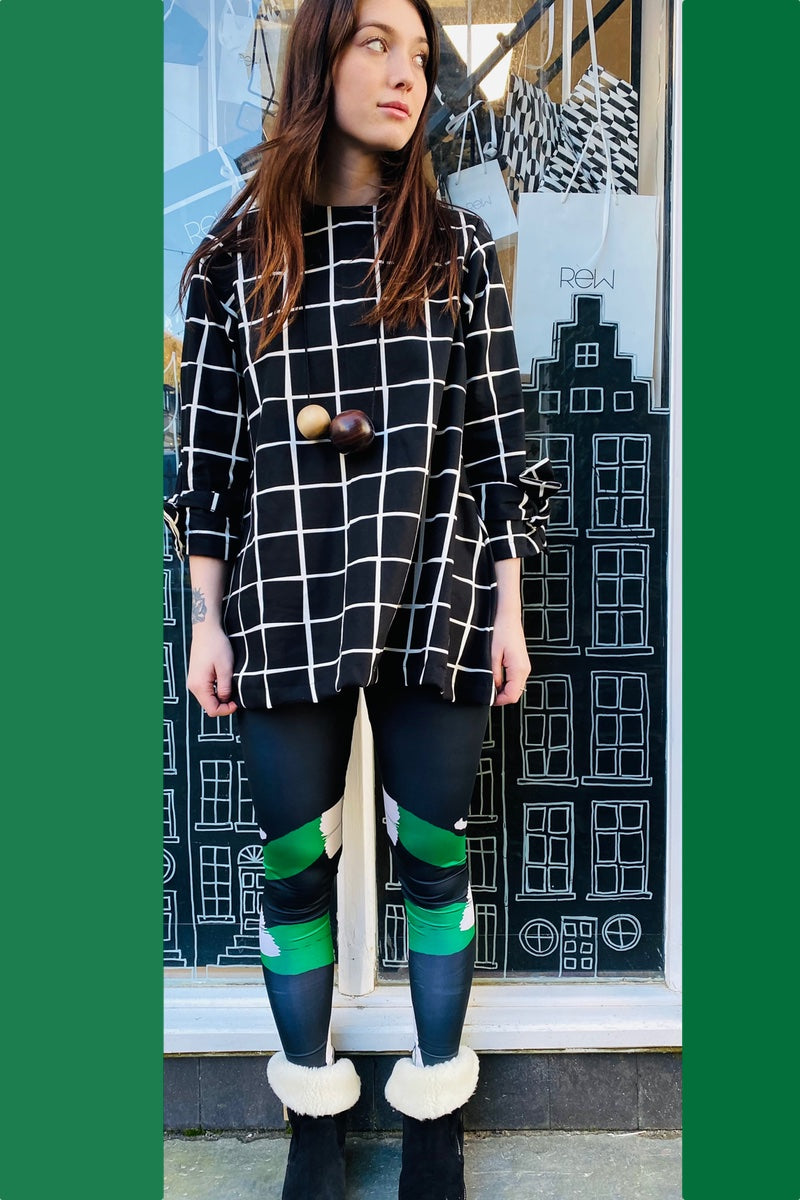 Grid Pattern - Totes Tunic