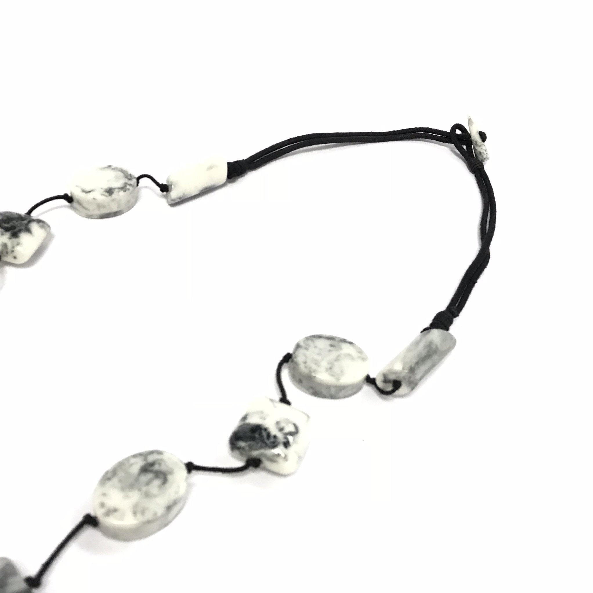 Marta Marble Long Necklace