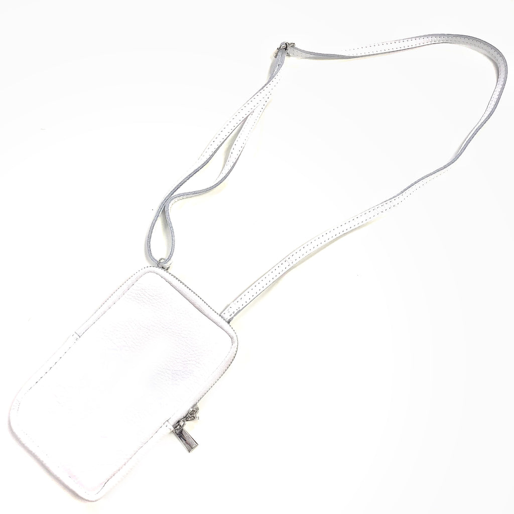 Continent white phone bag