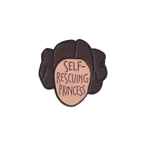 Self Rescuing Independent Princess Badge Gift Ideas