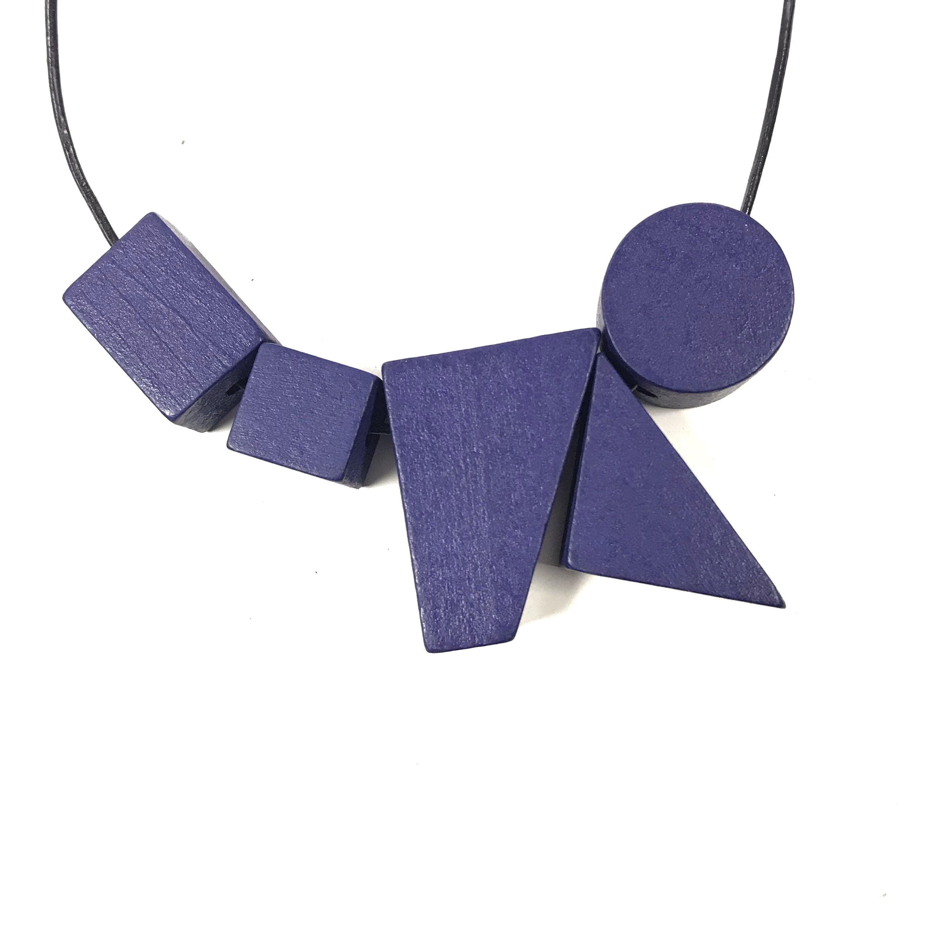 Leonie - Bright Shapes Adjustable Necklace