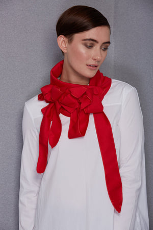 Joop - Lightweight Jersey Scarf Red