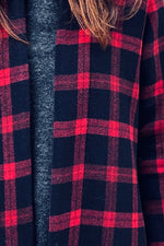 plaid winter fabric