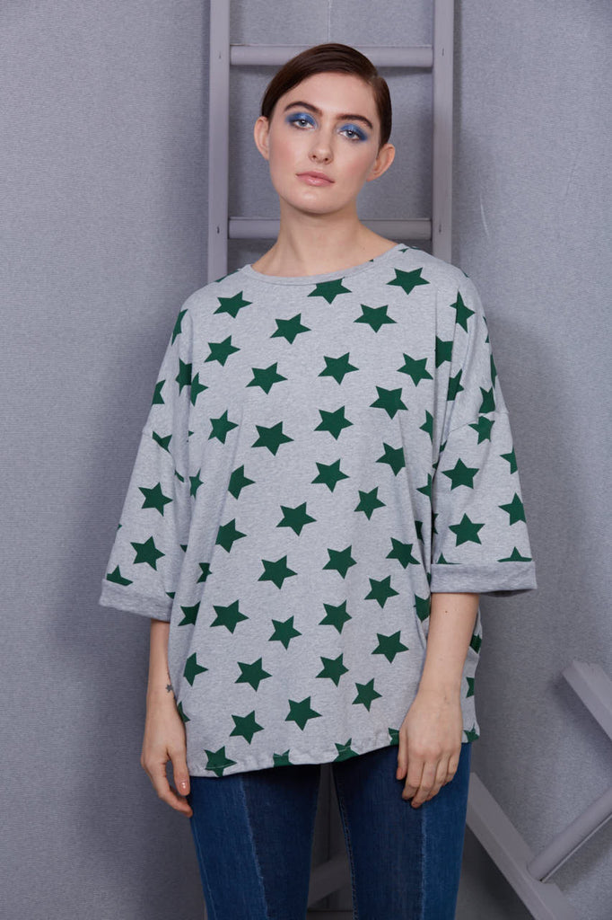 star slouch jumper