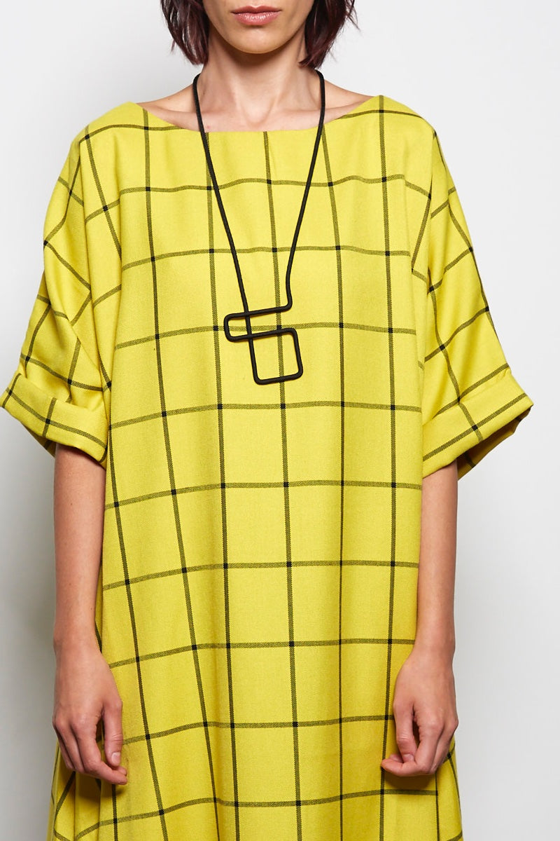 RUPERT YELLOW DRESS REW CLOTHING