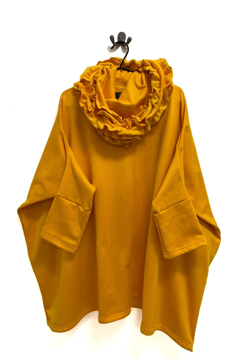 Sunflower Yellow Runch Neck Jersey Jumper