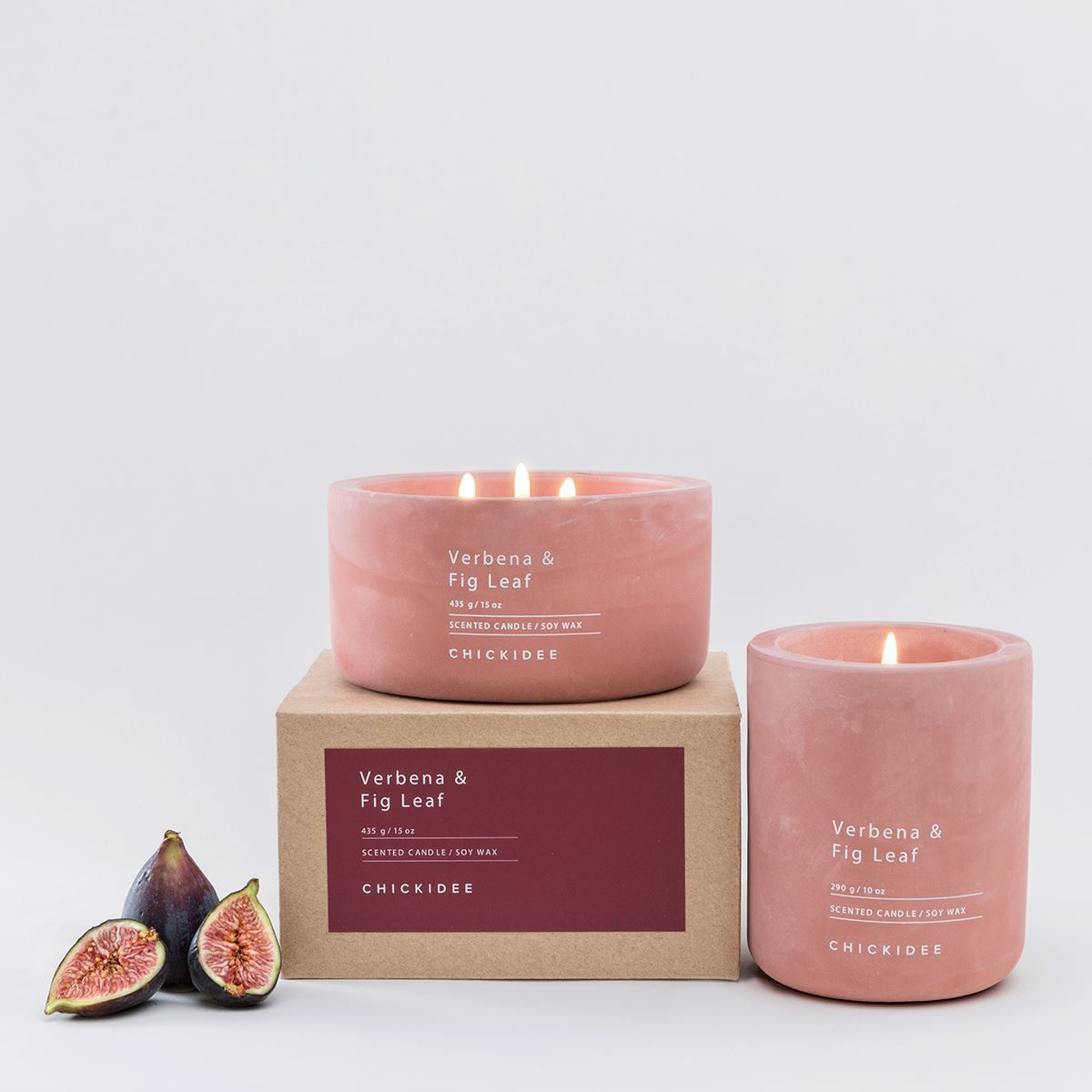 dusty plum and fig candle