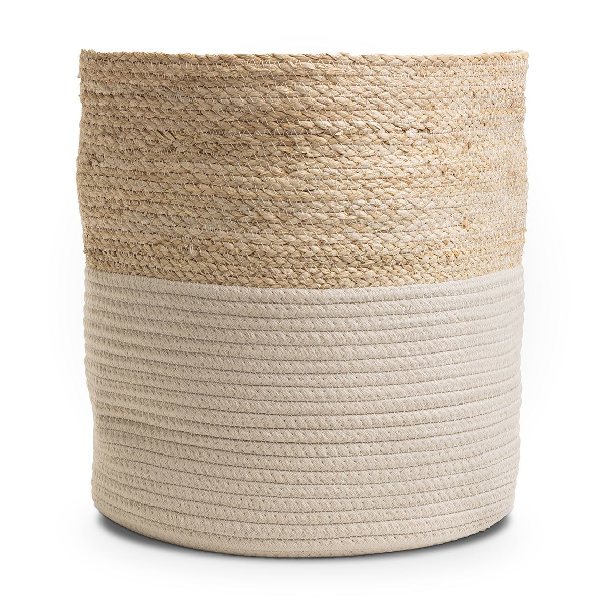 Large Rope Natural Storage Basket