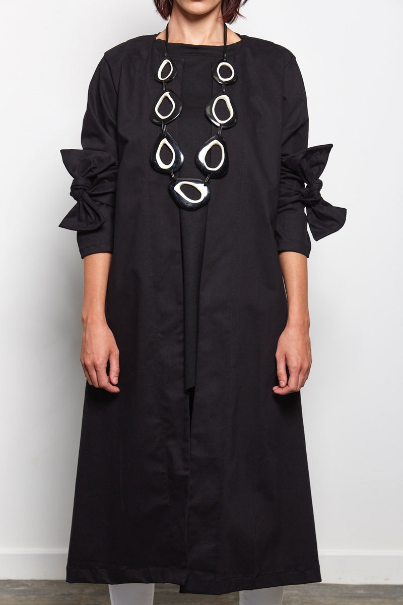 flared duster coat rew clothing