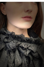 Nessy - Jacquard Woven Animal Evening Scarf
