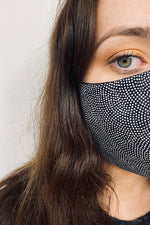 womens fine dot face mask rew clothing