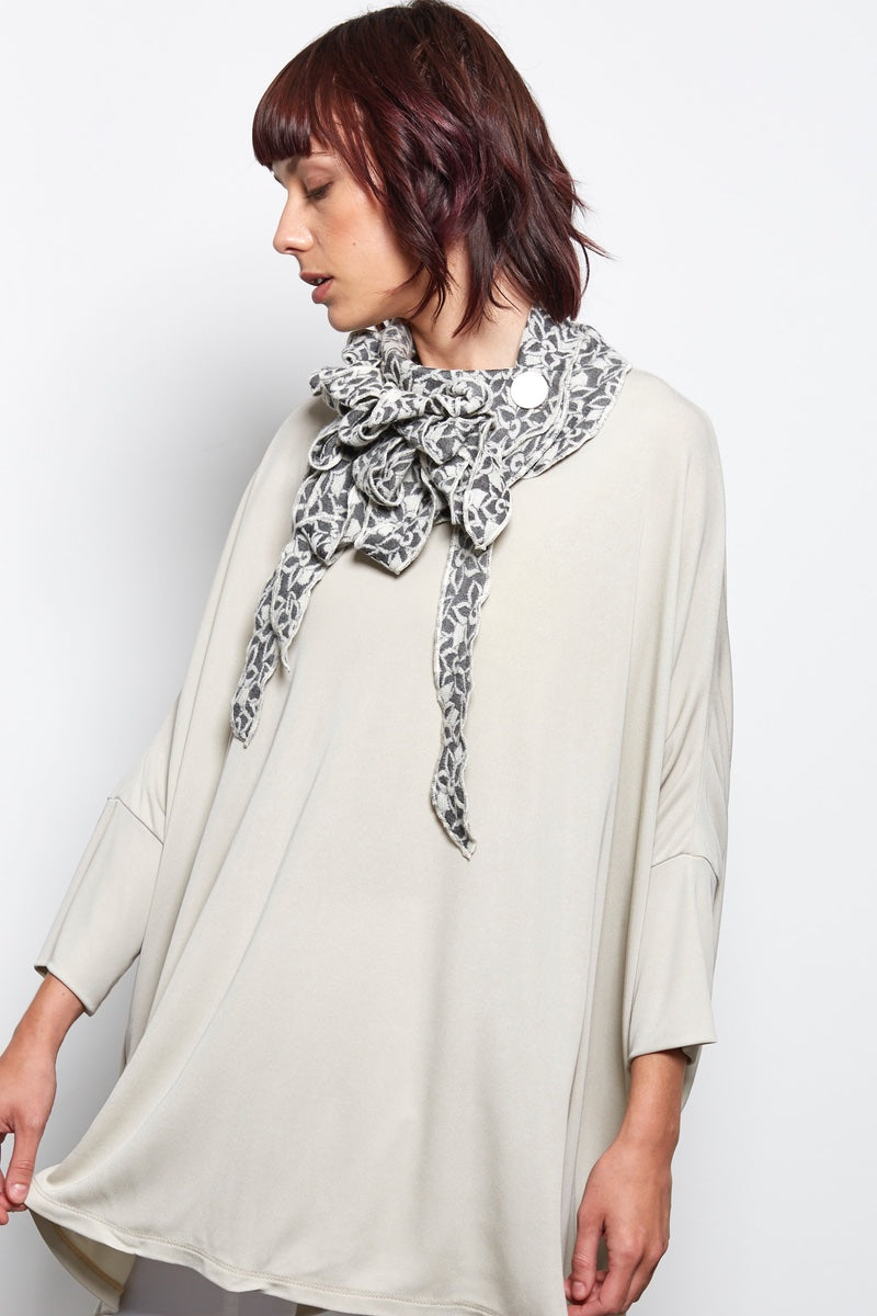 unusual button scarf the perfect gift for women