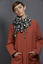 leopard fleece collar from REW