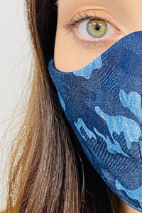 UNISEX DENIM FACE MASKS