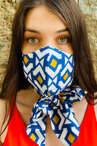 mask scarf 3 ply british made