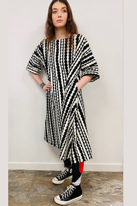 unusual japanese cotton dress
