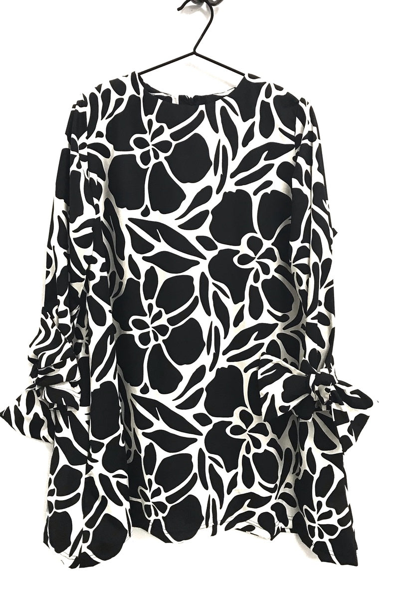 Totes Tunic - Big Floral Pattern