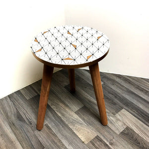 scandi inspired side table