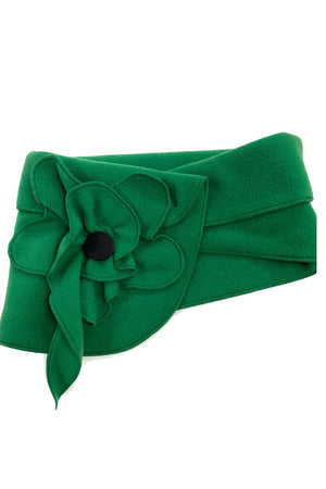 unusual poppy scarf green