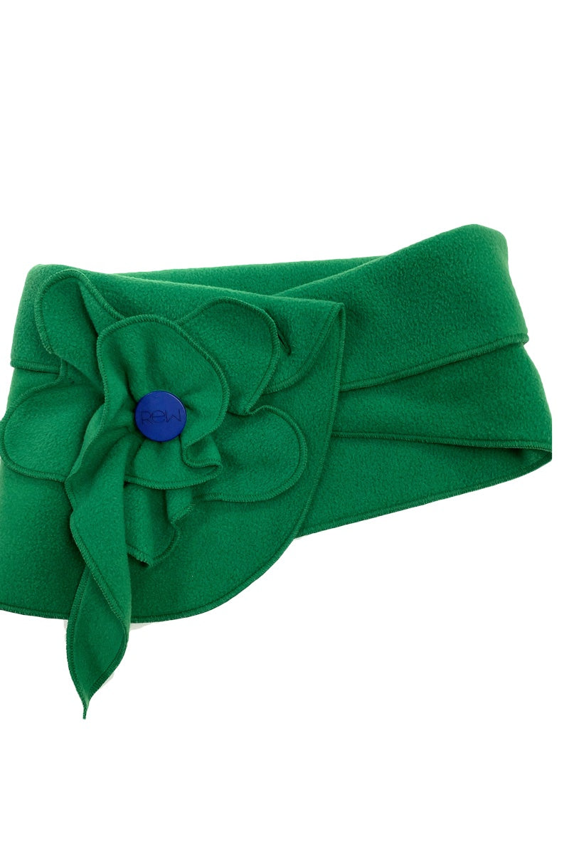 Poppy Scarf Green