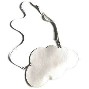 Cloud Clutch Bag - White