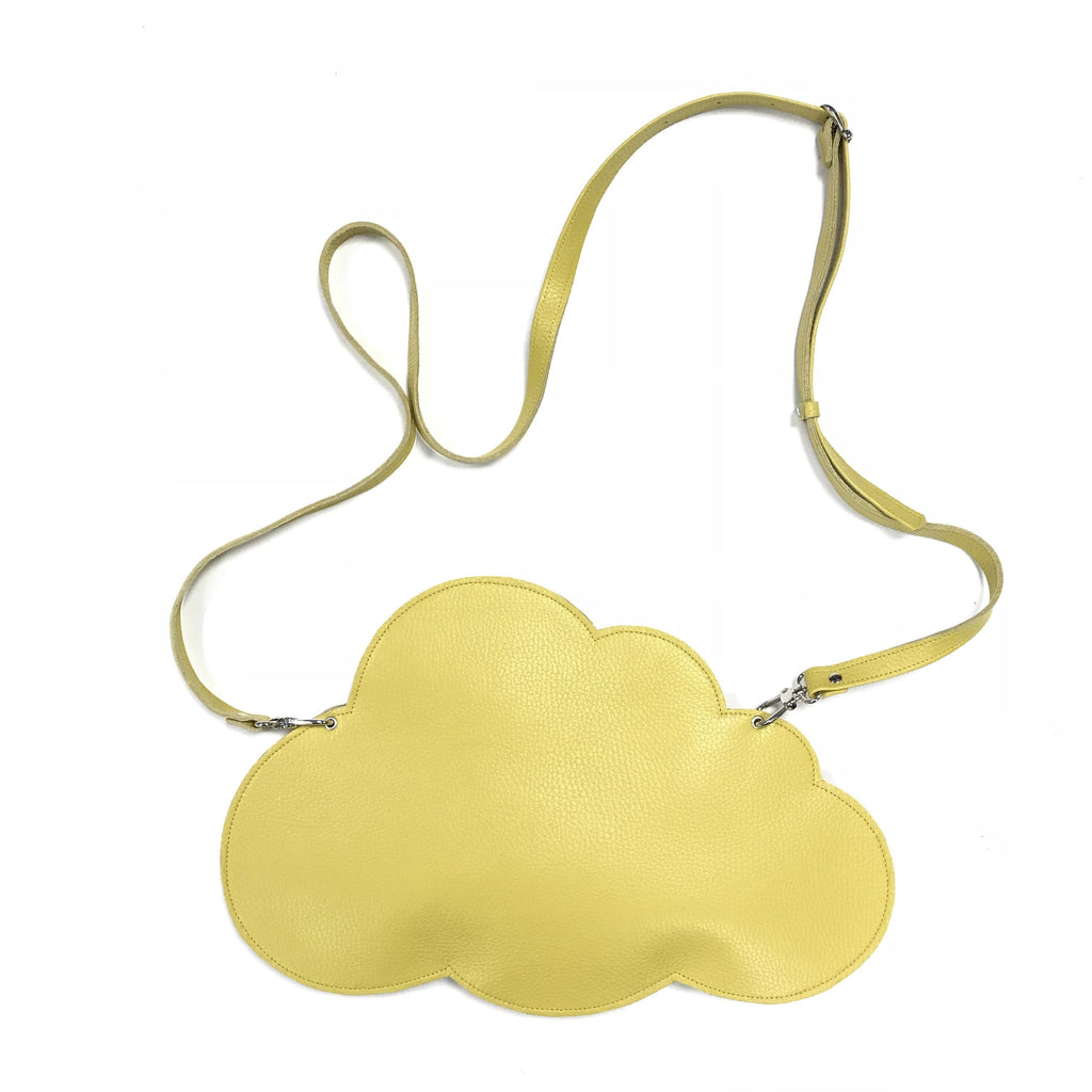 Cloud Clutch Bag - Yellow