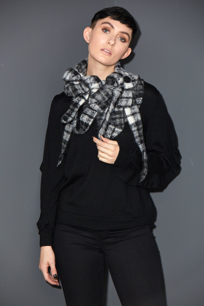 stunning wool winter scarf rew clothing