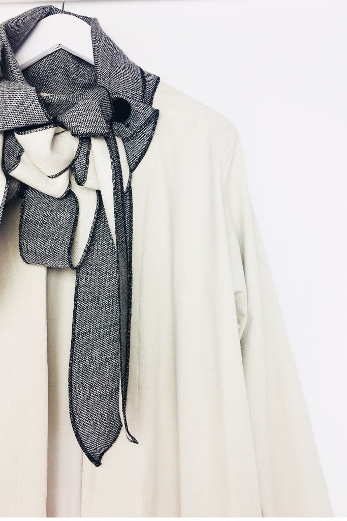 Fine Pin Corduroy Duster Coat