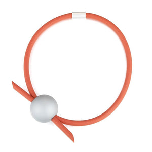 Unusual Short Coral Necklace Rew Clothing