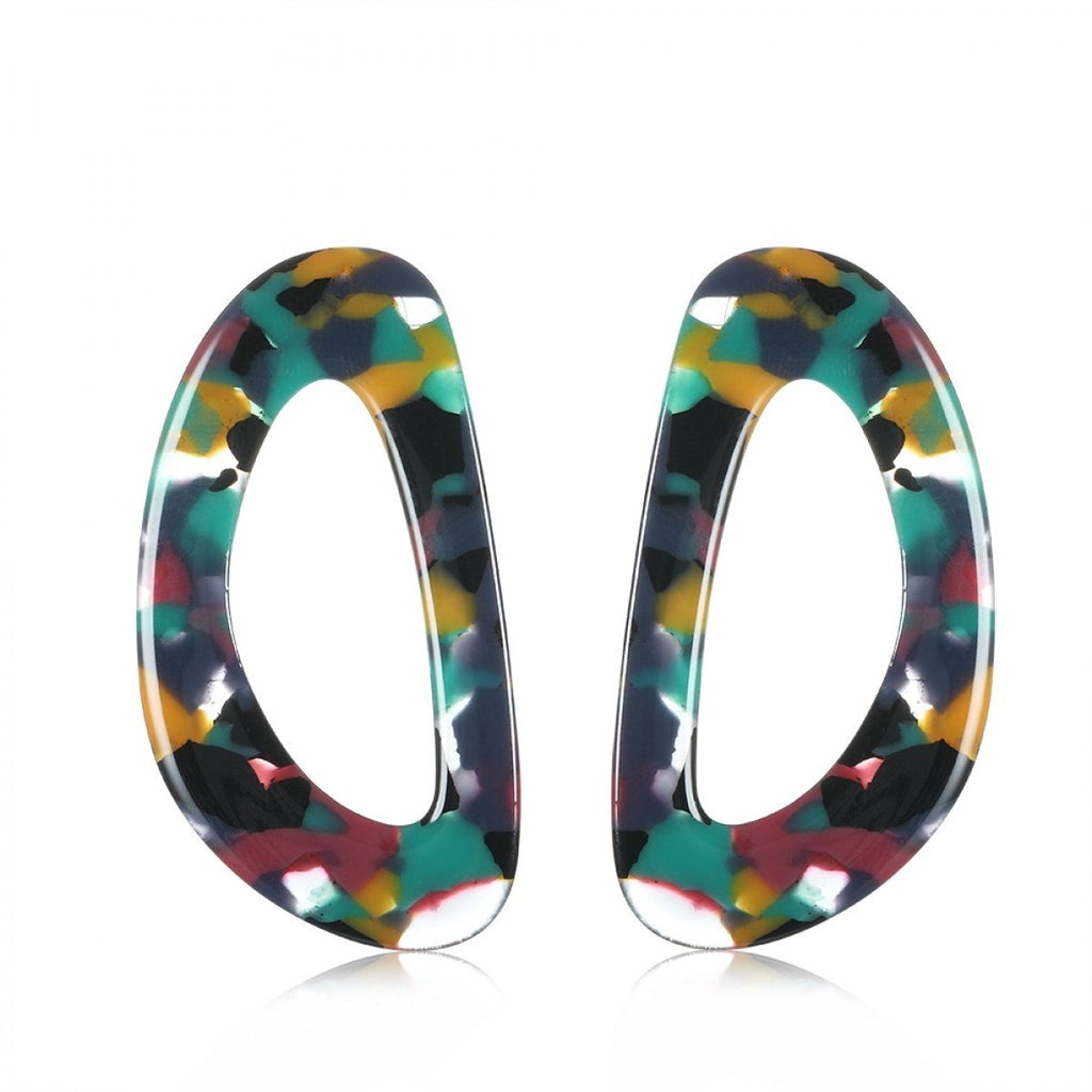 Soph - Multi Oversized Statement Earrings