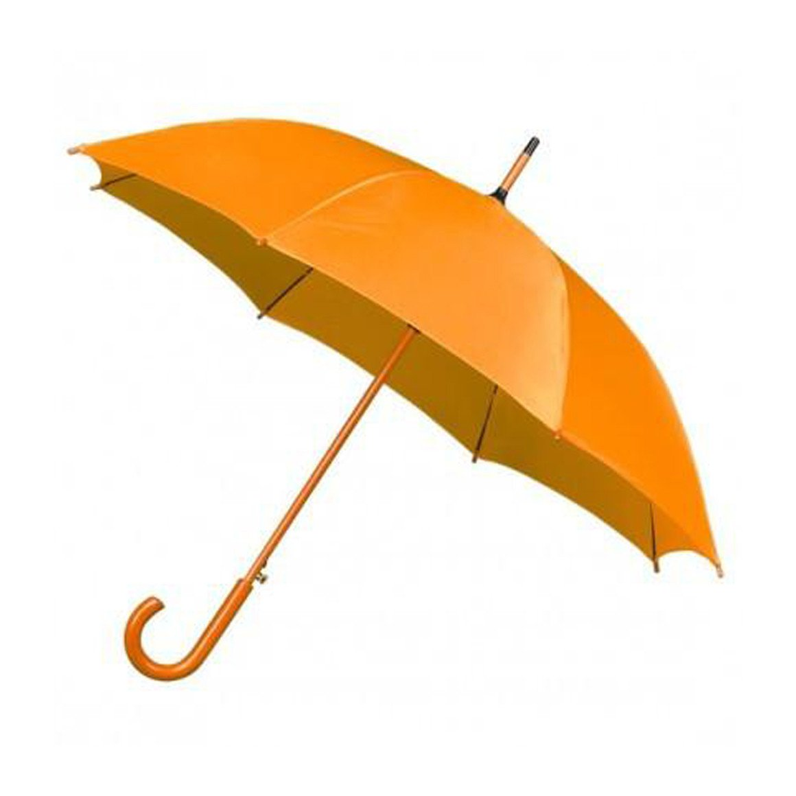 Susie - Mustard Wooden Handle Umbrella