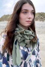 unusual winter scarves stylish