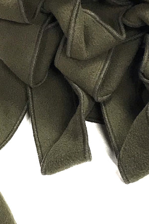 looking for a stylish scarf olive unusual collar