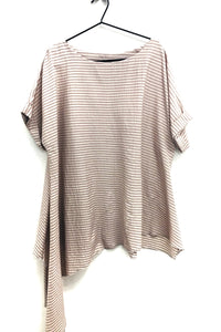 loose fit unusual top rew clothing