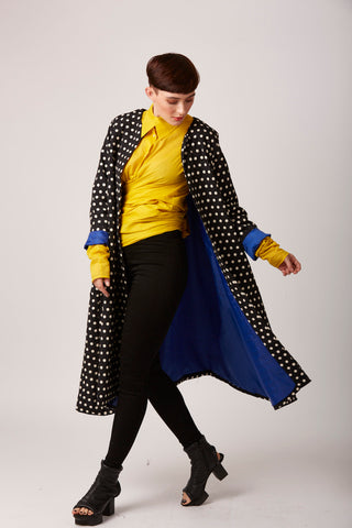 Spotty Dotty Duster Coat